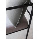 MORRIS JR Easy Chair - black steel