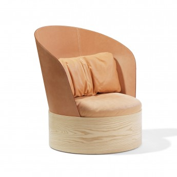Fauteuil B25 - Dossier cuir