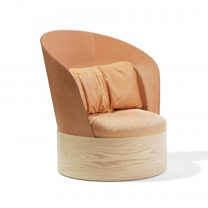 B25 Easy Chair - Leather back