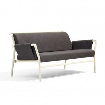 SUPERLINK Sofa - Black or white steel