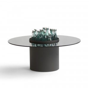 Bucket coffee table - Black