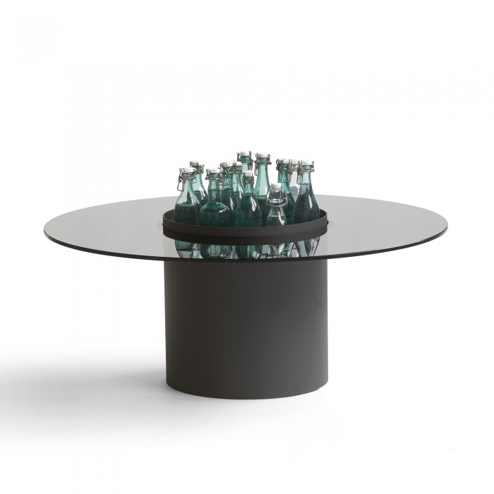 Table basse Bucket - noir