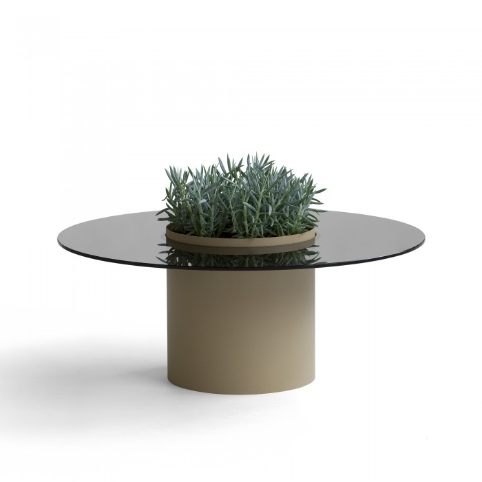 Bucket coffee table - Lacquered