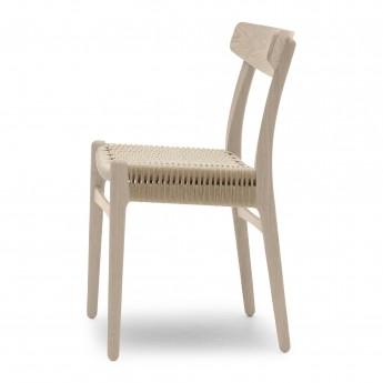 Chaise DINING chêne savonné - Naturel