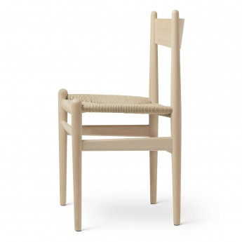 DINING chair CH36 beech soap - Natural