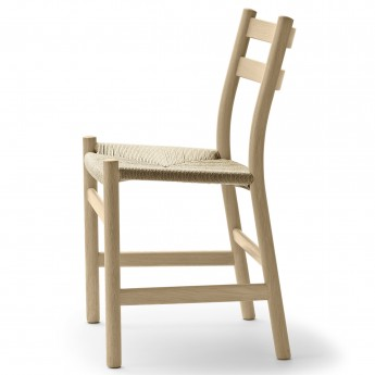 DINING chair CH47 oak soap - Natural