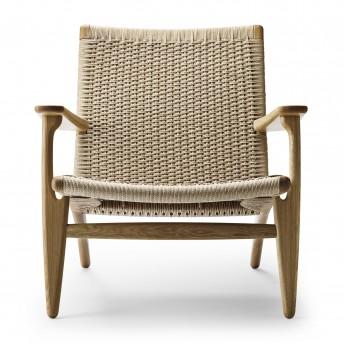 LOUNGE chair CH25 - Oak oil - Natural