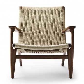 LOUNGE chair CH25 - Walnut oil - Natural