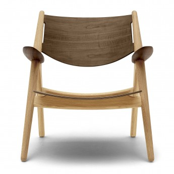LOUNGE chair CH28 - Walnut oil - Natural