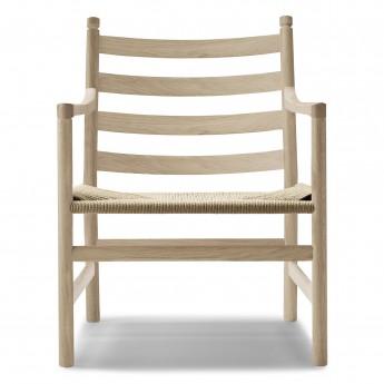 LOUNGE chair CH44 - Oak soap - Natural