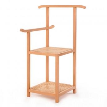 MAJORDOMO coat rack bench - Natural