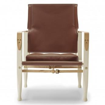SAFARI chair - ash oil - Leather