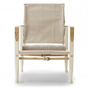 Chaise SAFARI avec coussin - Frêne - Toile