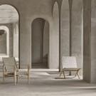 SAFARI chair with cushion - Ash - Fabric