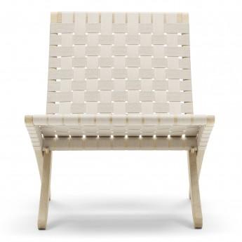 CUBA Chair - Oak - Natural cotton