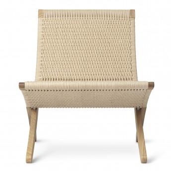 Chaise CUBA - Chêne - Corde de papier