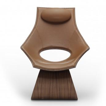 DREAM Chair - Walnut - Leather