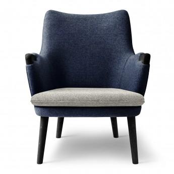 LOUNGE chair CH71 - Black oak