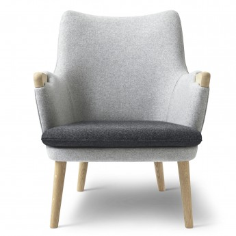 LOUNGE chair CH71 - Oak soap