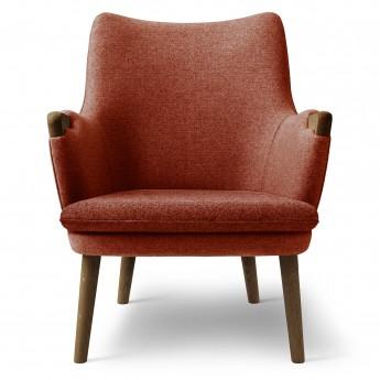 LOUNGE chair CH71 - Walnut oil