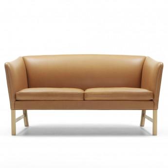 OW602 Sofa - Oak whiteoil - Leather