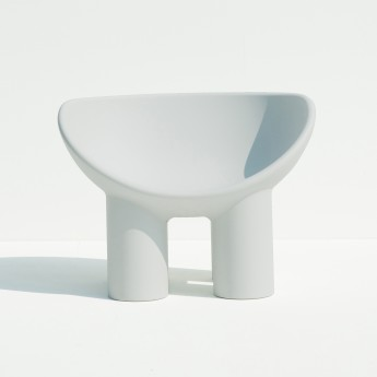 ROLY POLY armchair white