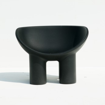 Fauteuil ROLY POLY charcoal