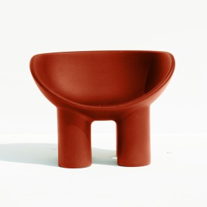 ROLY POLY armchair brick