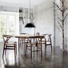 Table à manger CH337 - Chêne savonné