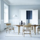Table à manger CH339 - Noyer huilé
