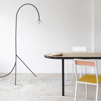 Table oval WOODEN - Noir