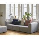 MAGS sofa 3 seaters Linen Grid adriatic blue