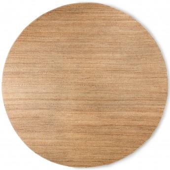 Round woven hemp rug (ø: 250cm)