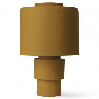 Lampe GESSO moutarde mate