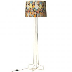 DORIS floor lamp - Floral pattern