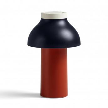 PC portable lamp - dusty red