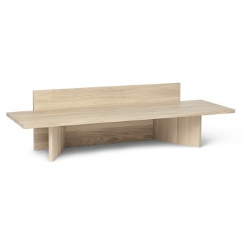 Banc OBLIQUE - Naturel