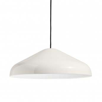 Pendant lamp PAO - white steel