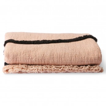 Soft WOVEN throw nude