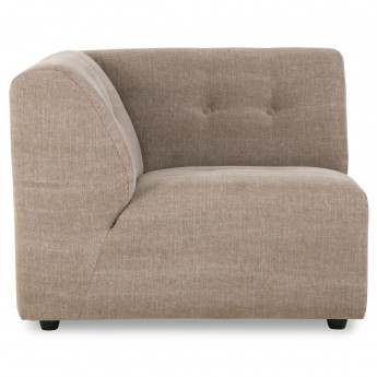 VINT couch element left - Taupe