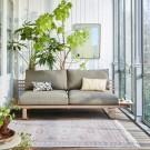 Aluminium outdoor LOUNGE sofa - Chai
