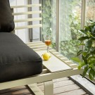 Outdoor LOUNGE sofa tray - Chai