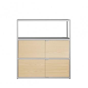 NEW ORDER high vertical shelf light grey