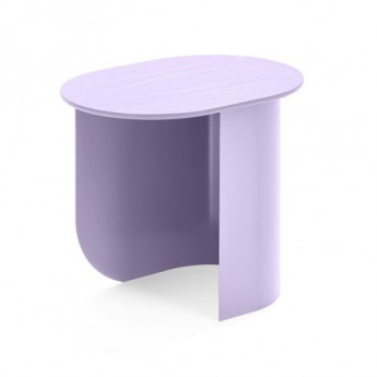 PLATEAU S lilac coffee table