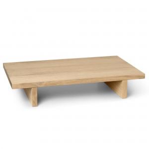 Table basse KONA - Placage Chêne Naturel
