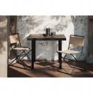 FLOD Tiles Café Table - Moka/Black