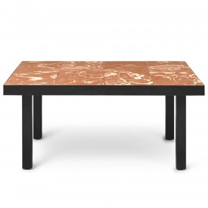 FLOD Tiles Coffee Table - Terracotta/Black