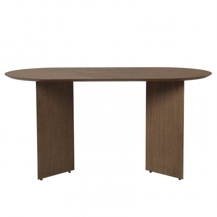 MINGLE table - Oval - Walnut