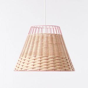 STRAW pink pendant lamp