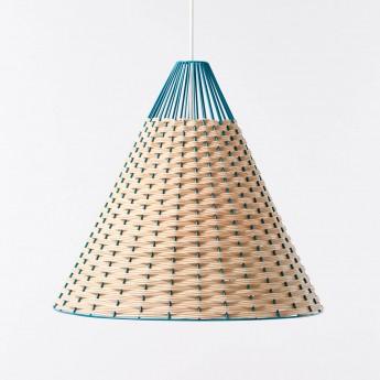 STRAW blue pendant lamp